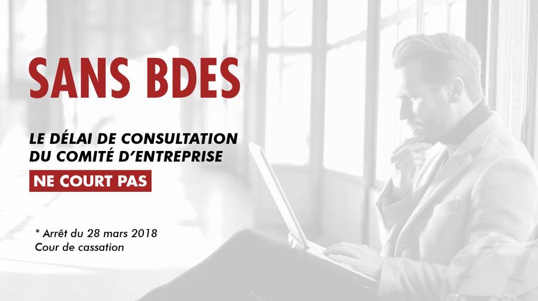 BDES et délai de consultation du CE
