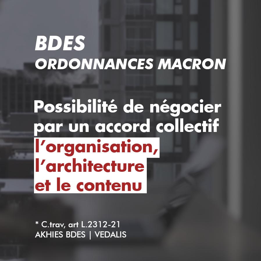 BDES ordonnances Macron
